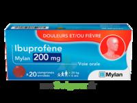 IBUPROFENE MYLAN 200 mg, comprimé enrobé à CHÂLONS-EN-CHAMPAGNE