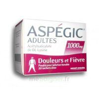 ASPEGIC ADULTES 1000 mg, poudre pour solution buvable en sachet-dose 20 à CHÂLONS-EN-CHAMPAGNE