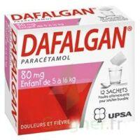 DAFALGAN 80 mg Poudre effervescente pour solution buvable B/12 à CHÂLONS-EN-CHAMPAGNE