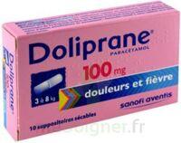 DOLIPRANE 100 mg Suppositoires sécables 2Plq/5 (10) à CHÂLONS-EN-CHAMPAGNE