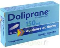 DOLIPRANE 150 mg Suppositoires 2Plq/5 (10)