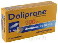 Doliprane 200 Mg Suppositoires 2plq/5 (10) à CHÂLONS-EN-CHAMPAGNE
