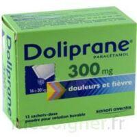 DOLIPRANE 300 mg Poudre pour solution buvable en sachet-dose B/12 à CHÂLONS-EN-CHAMPAGNE