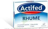 ACTIFED RHUME, comprimé à CHÂLONS-EN-CHAMPAGNE