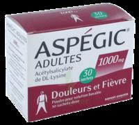 ASPEGIC ADULTES 1000 mg, poudre pour solution buvable en sachet-dose 30 à CHÂLONS-EN-CHAMPAGNE