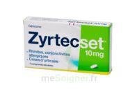 ZYRTECSET 10 mg, comprimé pelliculé sécable à CHÂLONS-EN-CHAMPAGNE