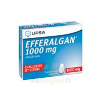 Efferalgan 1000 Mg Comprimés Pelliculés Plq/8 à CHÂLONS-EN-CHAMPAGNE