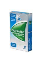 NICORETTE 4 mg Gom à mâcher médic sans sucre menthe glaciale Plq/30gom à CHÂLONS-EN-CHAMPAGNE