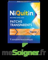 NIQUITIN 14 mg/24 heures, dispositif transdermique Sach/7 à CHÂLONS-EN-CHAMPAGNE