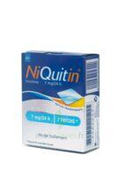 NIQUITIN 7 mg/24 heures, dispositif transdermique B/7