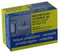 MAGNESIUM/VITAMINE B6 BIOGARAN CONSEIL 48 mg/5 mg, comprimé pelliculé à CHÂLONS-EN-CHAMPAGNE
