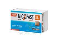 Nicopass 2,5 mg Pastille réglisse menthe sans sucre Plq/96 à CHÂLONS-EN-CHAMPAGNE