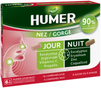 Humer Nez/gorge Jour&nuit 15 Comprimés à CHÂLONS-EN-CHAMPAGNE