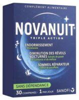 Novanuit Triple Action Comprimés B/30 à CHÂLONS-EN-CHAMPAGNE