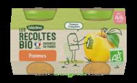 Blédina Les Récoltes Bio Pommes De Nouvelle Aquitaine 2 Pots/130g à CHÂLONS-EN-CHAMPAGNE