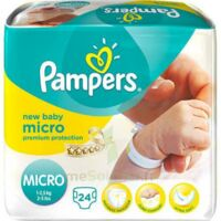 PAMPERS COUCHES NEW BABY MICRO 1-2,5 KG x 24 à CHÂLONS-EN-CHAMPAGNE