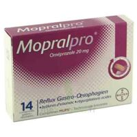 Mopralpro 20 Mg Cpr Gastro-rés Film/14 à CHÂLONS-EN-CHAMPAGNE