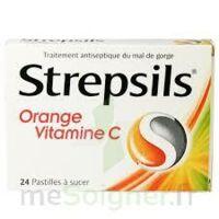 STREPSILS ORANGE VITAMINE C, pastille à CHÂLONS-EN-CHAMPAGNE