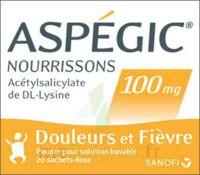 ASPEGIC NOURRISSONS 100 mg, poudre pour solution buvable en sachet-dose à CHÂLONS-EN-CHAMPAGNE