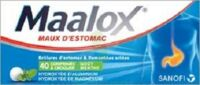 MAALOX HYDROXYDE D'ALUMINIUM/HYDROXYDE DE MAGNESIUM 400 mg/400 mg Cpr à croquer maux d'estomac Plq/40 à CHÂLONS-EN-CHAMPAGNE