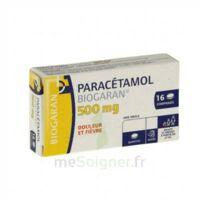 PARACETAMOL BIOGARAN 500 mg, comprimé Plq/16 à CHÂLONS-EN-CHAMPAGNE