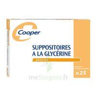 SUPPOSITOIRES A LA GLYCERINE COOPER Suppos en récipient multidose adulte Sach/25 à CHÂLONS-EN-CHAMPAGNE