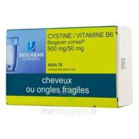 CYSTINE/VITAMINE B6 BIOGARAN CONSEIL 500 mg/50 mg Cpr pell Plq/120 à CHÂLONS-EN-CHAMPAGNE
