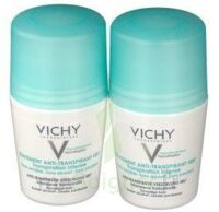 VICHY TRAITEMENT ANTITRANSPIRANT BILLE 48H, fl 50 ml, lot 2 à CHÂLONS-EN-CHAMPAGNE