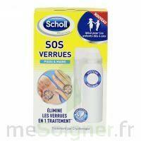 Scholl SOS Verrues traitement pieds et mains à CHÂLONS-EN-CHAMPAGNE