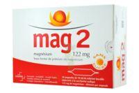 MAG 2 SANS SUCRE 122 mg, solution buvable en ampoule édulcoré à la saccharine sodique à CHÂLONS-EN-CHAMPAGNE