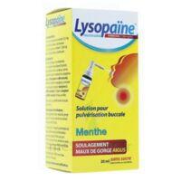 LYSOPAÏNE AMBROXOL 17,86 mg/ml Solution pour pulvérisation buccale maux de gorge sans sucre menthe Fl/20ml à CHÂLONS-EN-CHAMPAGNE