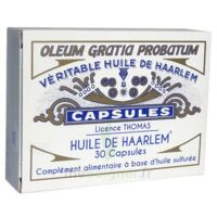 Huile de Haarlem B/30 à CHÂLONS-EN-CHAMPAGNE