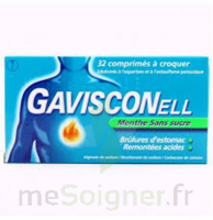 GAVISCONELL Coprimés à croquer sans sucre menthe édulcoré à l'aspartam et à l'acésulfame potas Plq/24 à CHÂLONS-EN-CHAMPAGNE