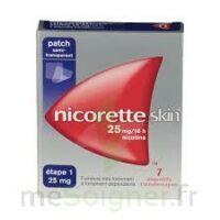 Nicoretteskin 25 mg/16 h Dispositif transdermique B/7