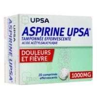 ASPIRINE UPSA TAMPONNEE EFFERVESCENTE 1000 mg, comprimé effervescent à CHÂLONS-EN-CHAMPAGNE