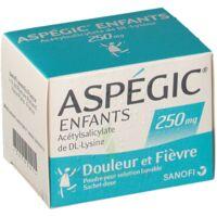 ASPEGIC ENFANTS 250, poudre pour solution buvable en sachet-dose à CHÂLONS-EN-CHAMPAGNE
