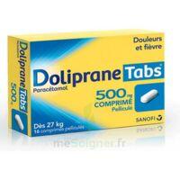 DOLIPRANETABS 500 mg Comprimés pelliculés Plq/16 à CHÂLONS-EN-CHAMPAGNE