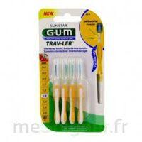 GUM TRAV - LER, 1,3 mm, manche jaune , blister 4 à CHÂLONS-EN-CHAMPAGNE