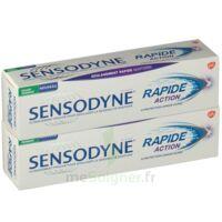 Sensodyne Rapide Pâte dentifrice dents sensibles 2*75ml à CHÂLONS-EN-CHAMPAGNE