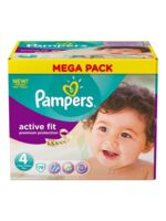 PAMPERS COUCHES ACTIVE FIT TAILLE 4 7-18 KG X 78 à CHÂLONS-EN-CHAMPAGNE