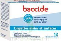 Baccide Lingette désinfectante mains & surface 12 Pochettes à CHÂLONS-EN-CHAMPAGNE