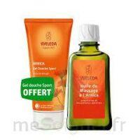 Weleda huile de massage arnica 200ml  + Gel douche OFFERT à CHÂLONS-EN-CHAMPAGNE