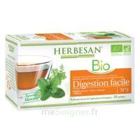 Herbesan Infusion Bio Tisane digestion facile 20 Sachets à CHÂLONS-EN-CHAMPAGNE