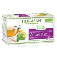 Herbesan Infusion Bio Tisane ventre plat 20 Sachets à CHÂLONS-EN-CHAMPAGNE
