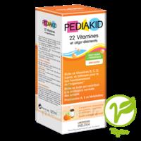 Pédiakid 22 Vitamines et Oligo-Eléments Sirop abricot orange 125ml à CHÂLONS-EN-CHAMPAGNE