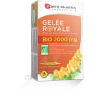 Forte Pharma Gelée royale bio 2000 mg Solution buvable 20 Ampoules/15ml à CHÂLONS-EN-CHAMPAGNE