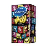 Manix Play Préservatif avec réservoir lubrifié B/16 à CHÂLONS-EN-CHAMPAGNE