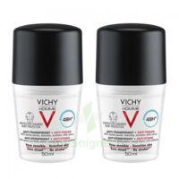 Vichy Homme Déodorant anti-transpirant anti trace 48H 2*Billes/50ml à CHÂLONS-EN-CHAMPAGNE