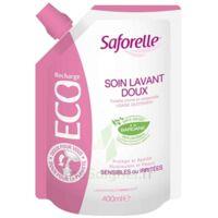 Saforelle Solution soin lavant doux Eco-recharge/400ml à CHÂLONS-EN-CHAMPAGNE