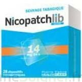NICOPATCHLIB 14 mg/24 h Dispositifs transdermiques B/28 à CHÂLONS-EN-CHAMPAGNE